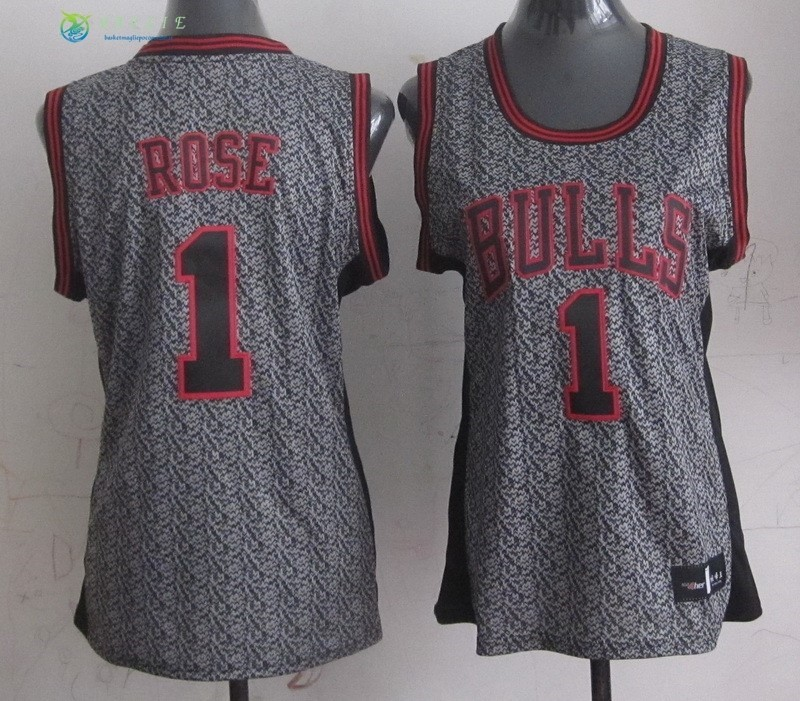 Maglia NBA Donna 2013 Fashion Statico NO.1 Rose