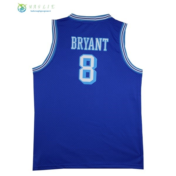 Maglia NBA Los Angeles Lakers NO.8 Kobe Bryant Blu